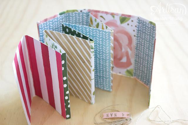 English Garden Mini Album (inside) ~ Susan Wong