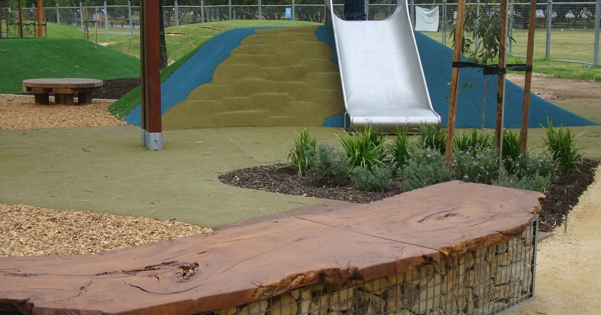 Wax design approaching completion of the bonython park for Space landscape construction adelaide