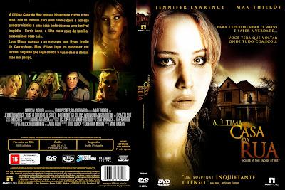 A Última Casa Da Rua DVD Capa