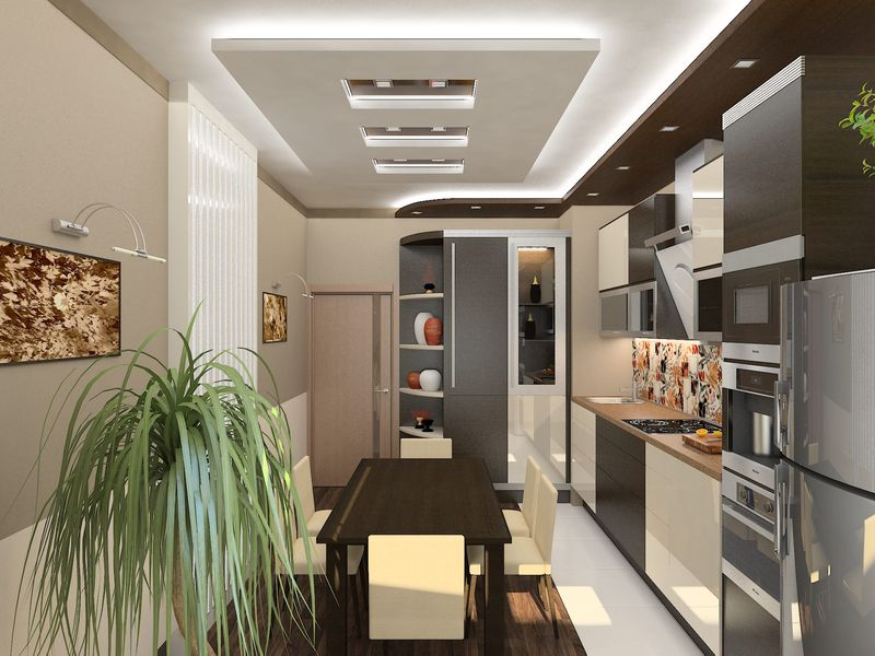 Galley kitchens designs ideas home remedies for Galley kitchen designs
