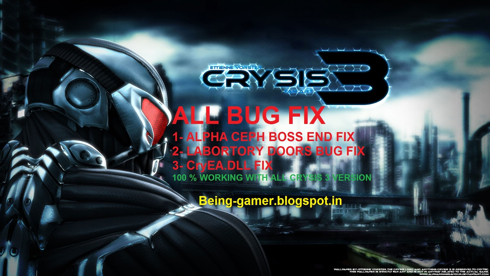 MY ROCKING WORLD: HOW TO DEFEAT ALPHA CEPH IN CRYSIS 3 ...