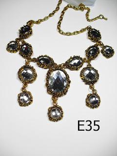 kalung aksesoris wanita e35