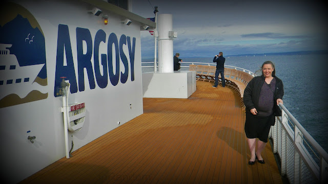 Argosy Cruise deck