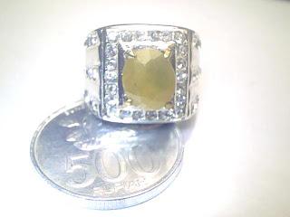Batu Cincin Yellow Sapphire
