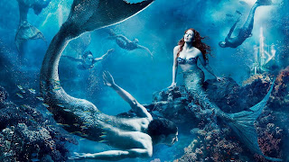 Mermaids Under Water HD Wallpaper