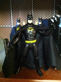 GeekSummit Geek Summit Movie Masters MattyCollector.com Matty Collector Hot Toys Michael Keaton Batman 89 Tim Burton Kai Play Arts Square Enix SDCC 2012 figure Custom Classics Dark Knight Rises Man of Steel