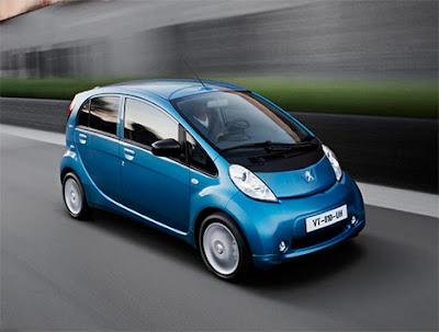 Peugeot iOn, l'elettrica del Gruppo PSA