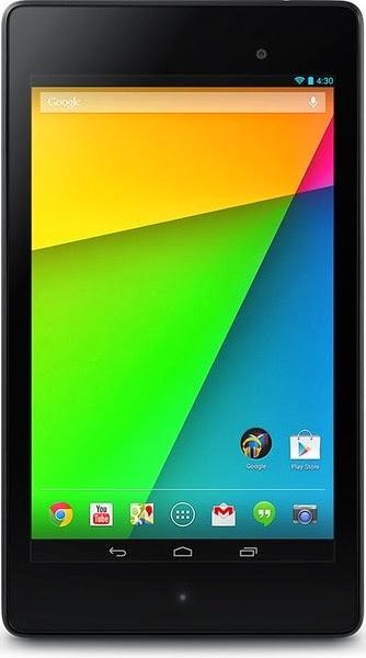 Nexus 7 Tablet Dengan Resolusi Tertinggi