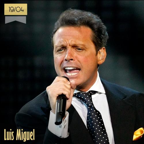 19 de abril | Luis Miguel - @LMXLM | Info + vídeos