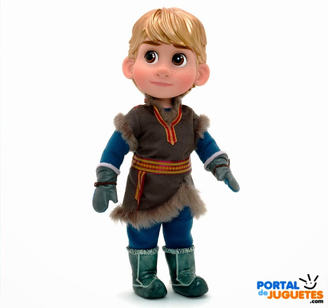 muñeco kristoff coleccion disney animators frozen disney store