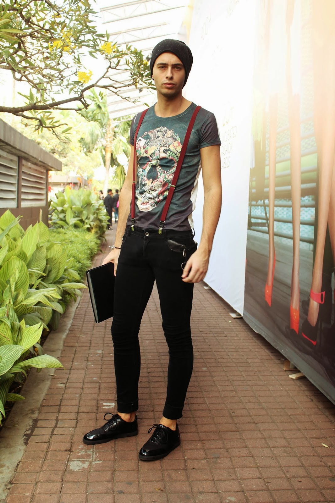 mr rebel in town jakarta fashion week 2014 men street style