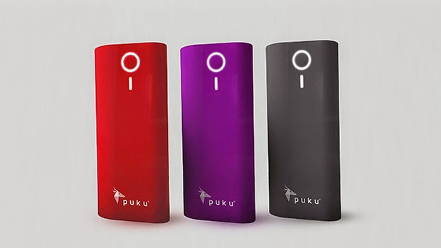 puku spark powerbank for smartphones