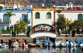 Travel around Spain - Puerto de Mogan