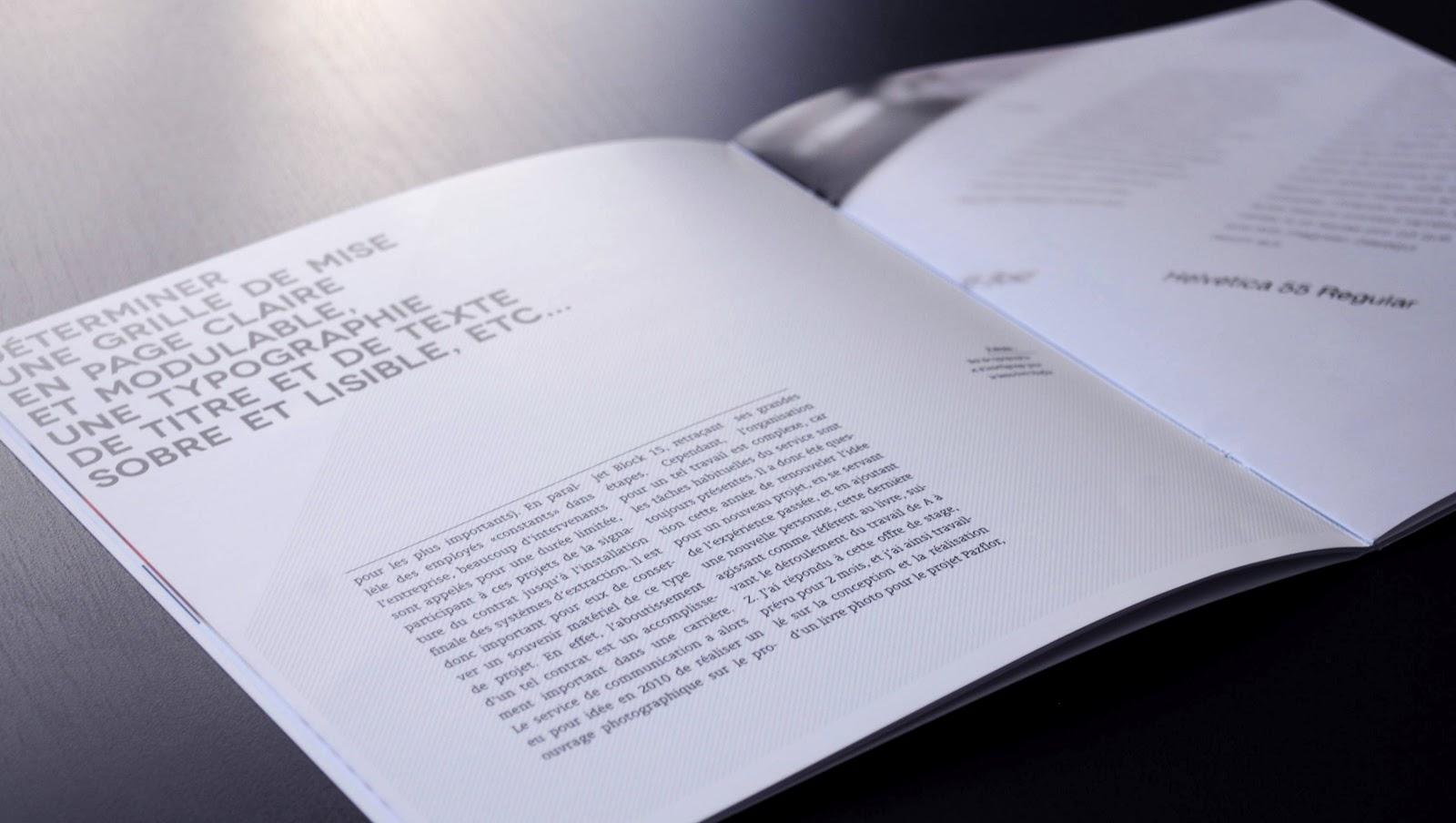Bien-aimé Typographisme: Rapport de Stage 2 WF63
