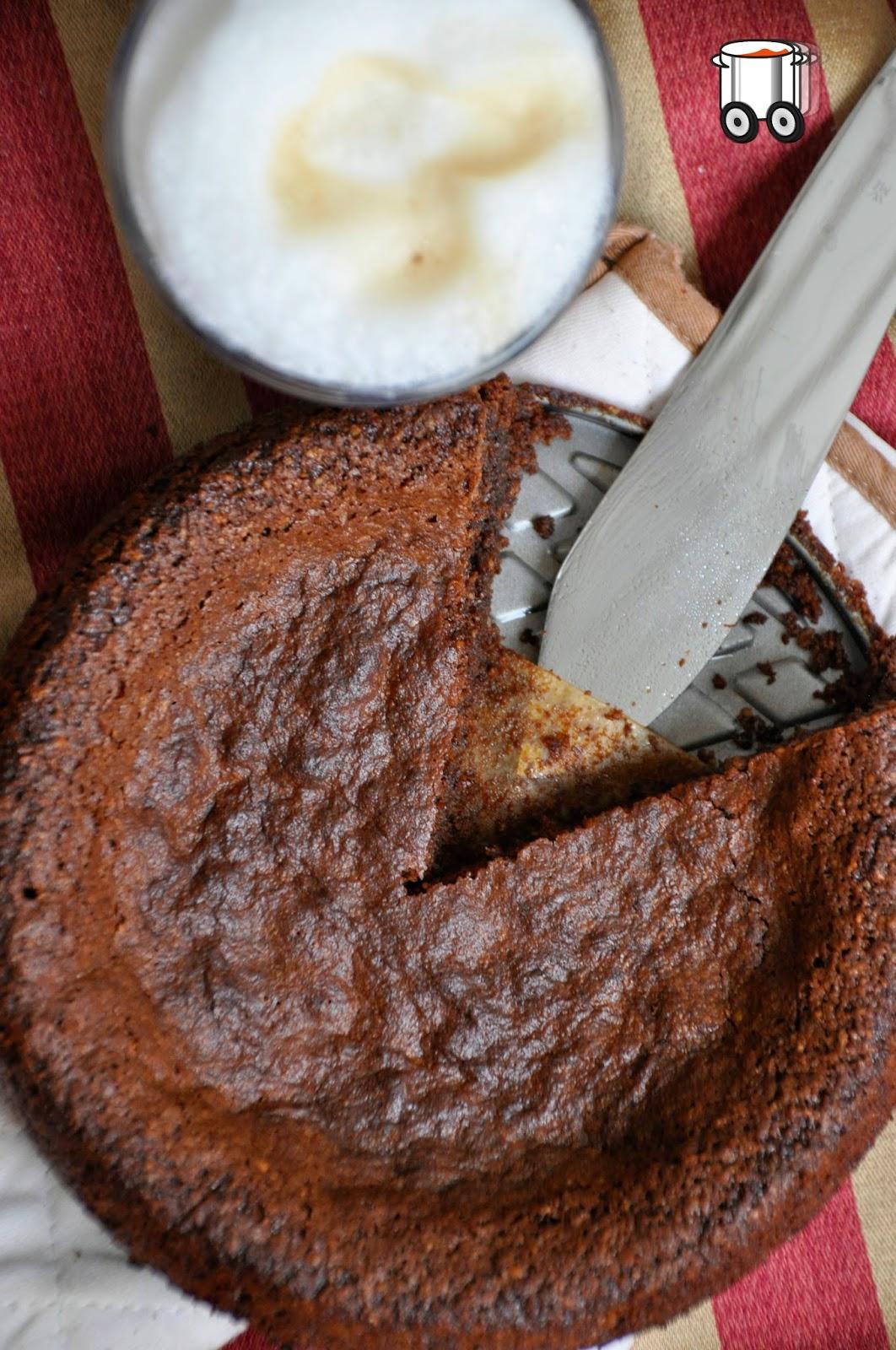 Szybko Tanio Smacznie - Tarta czekoladowo - migdałowa (bezglutenowa)