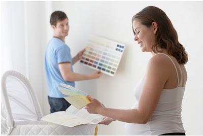 Dicas de como decorar o quarto do bebê - Cor do quarto do bebê