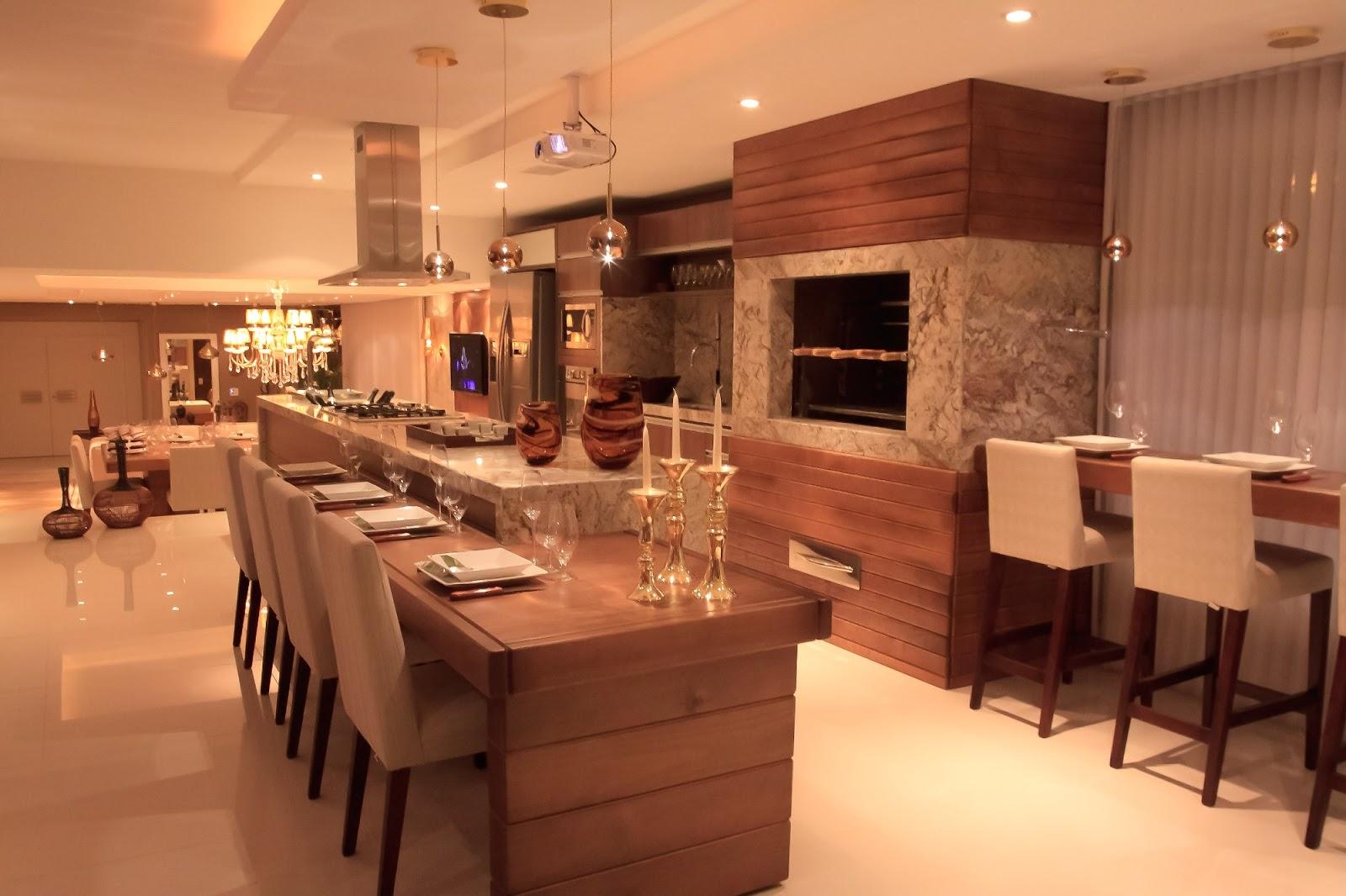 20 Cozinhas Com Churrasqueiras Modernas Veja Modelos E Dicas Para
