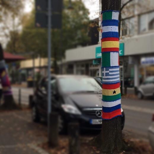 Уличное вязание