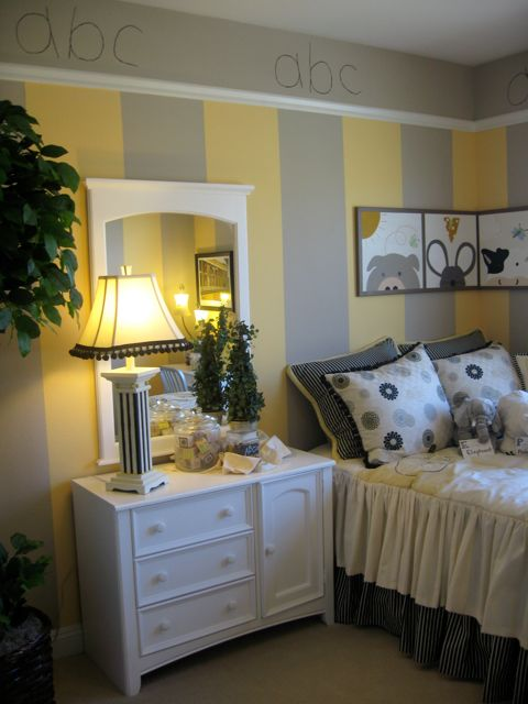 abc yellow and gray room design dazzle