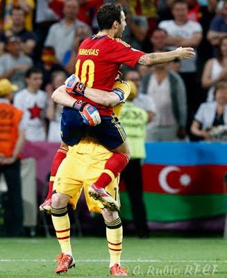 gol de Cesc Fábregas penalti Eurocopa 2012 España-Portugal