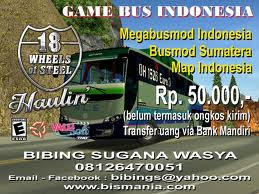 Mod Bus Indonesia Full Version 18 Wheel Steel Haulin