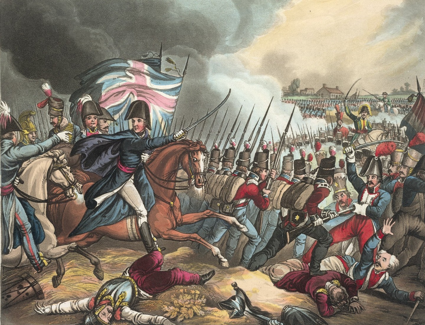 the battle of waterloo It might be 200 years since the battle of waterloo on thursday, but those nine hours of bloodshed on a field near the belgian town of waterloo changed the course of history.