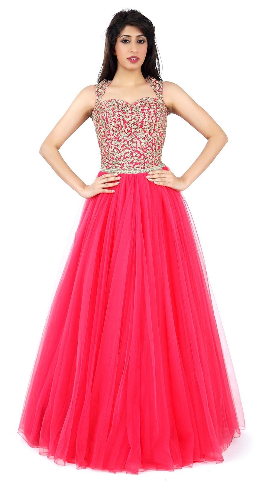 Beautiful Floor Length Dresses and Gowns by Jyotsna Tiwari   Sketch ...