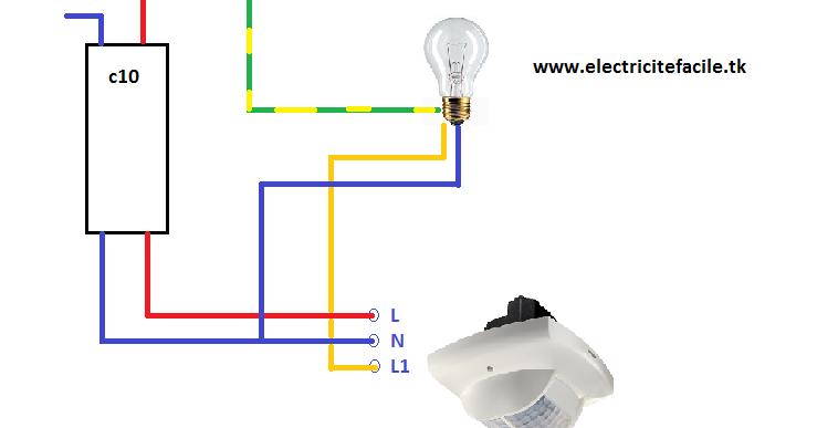 Favorit Schémas électriques: schéma de cablage électrique détecteur de  TU01