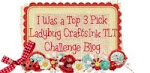 I Was a Top 3 Pick at Ladybug CraftInk Challenge Blog