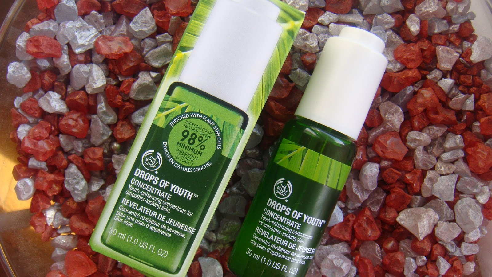 The Body Shop, Drops of Youth, koncentrat do twarzy.