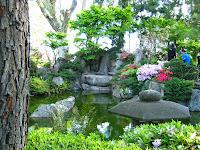 Landscapes japanese garden Montevideo Uruguay