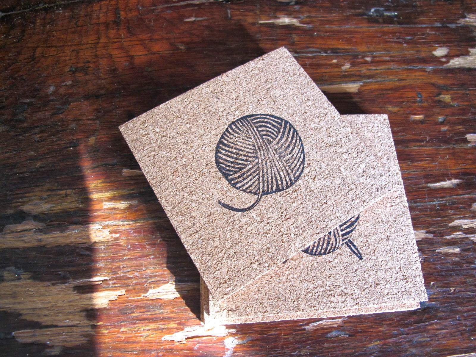 Maya made stampin 39 cork simple gifts for Simple cork