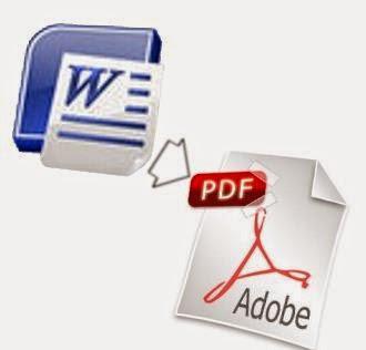 Como pasar de WORD a PDF o PDF a WORD