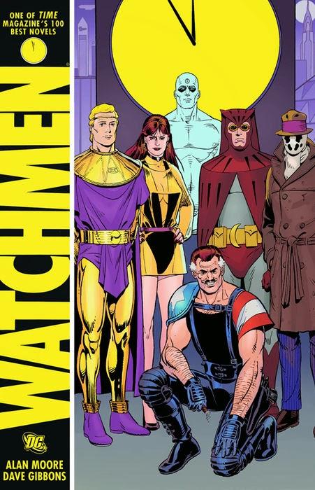 Portada de 'Watchmen' (1987), de Alan Moore