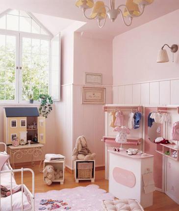 Prendada e caprichosa dormit rio cl ssico meninas - Dormitorios infantiles clasicos ...