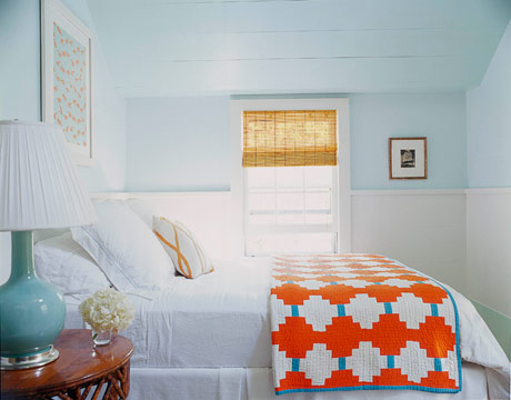southgate residential color inspiration blue and orange
