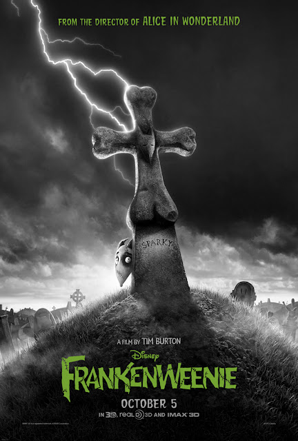 frankenweenie, animation