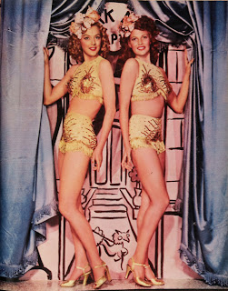 Rita Hayworth showgirl costume Cover Girl Cover Girl 1944 movieloversreviews.blogspot.com