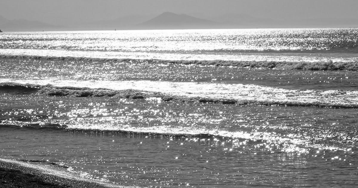 Herbe rousse bord de mer noir et blanc for Art minimaliste noir et blanc