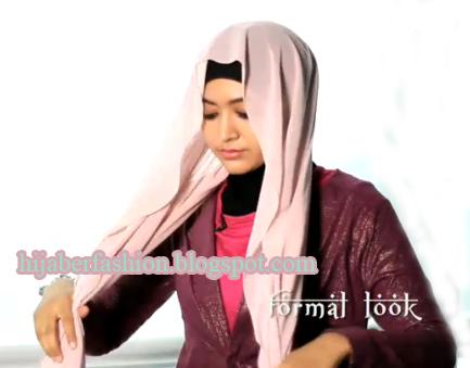 Tutorial Hijab Untuk Ke Kantor yang Elegan - Cara Memakai Jilbab