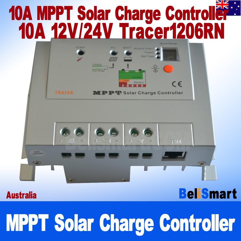 Haute Efficacité 10 A MPPT solar charge controller 12V// pour systèmes 24 V jusqu/'à 150 V