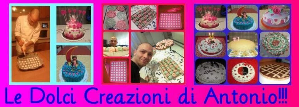 Le dolci creazioni di Antonio!