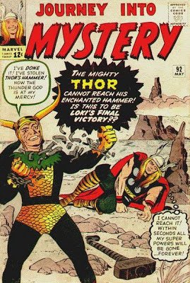 Journey Into Mystery #92, Loki is back