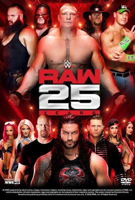 WWE Raw 25th Anniversary 2018 DVD R1 NTSC VO