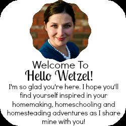Welcome to Hello Wetzel