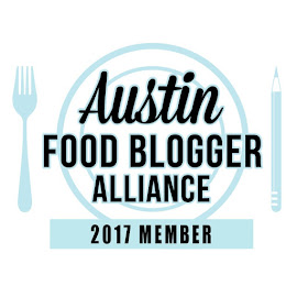 Proud member of Austin Food Blogger Alliance