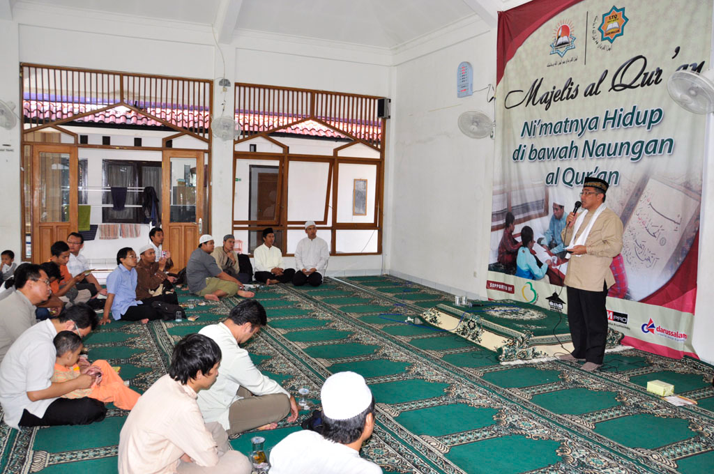 Masjid di Ponpes Al Hamidiyah