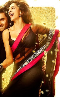 Buy Deepika Padukone yeh jawani hai deewani black saree