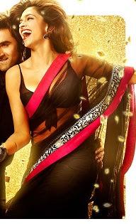 Buy Deepika Padukone yeh jawani hai deewani black saree