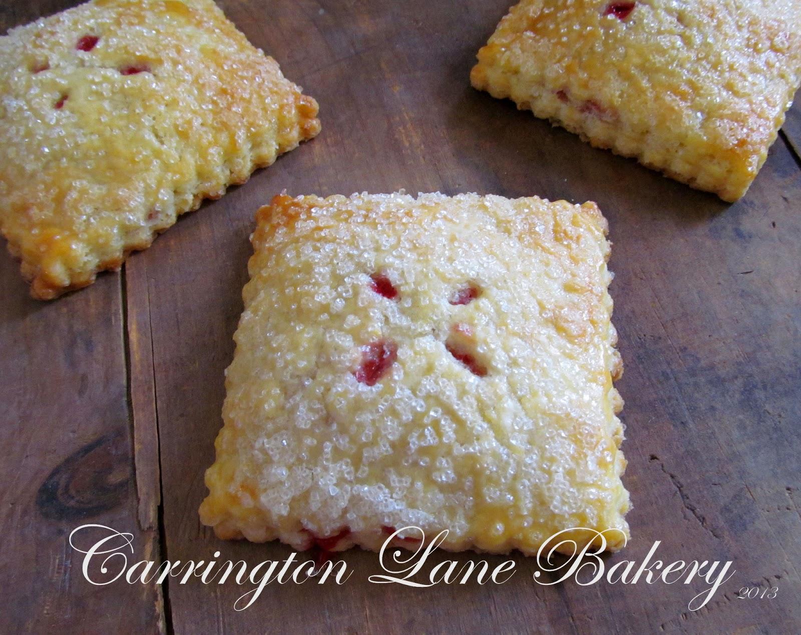 Carrington Lane Bakery: Strawberry Cream Cheese Hand Pies